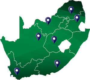 Goscor Power Products - South Africa Map