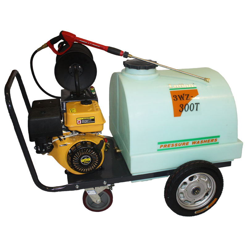 Lutain Petrol High Pressure Washer - 3WZ300T:LT190F