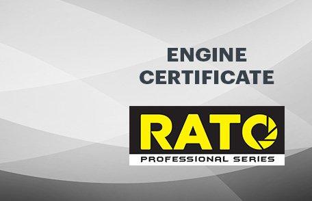 Rato Engine Certificate