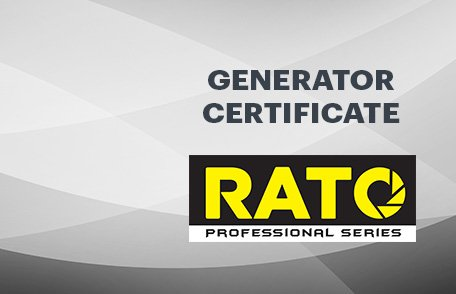 Rato Generators Certificate
