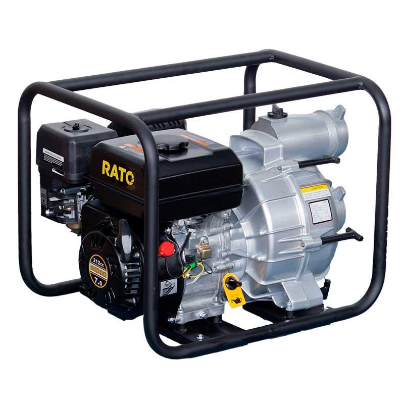 Rato Petrol Semi Trash Pump - RT80WB26-3.8Q