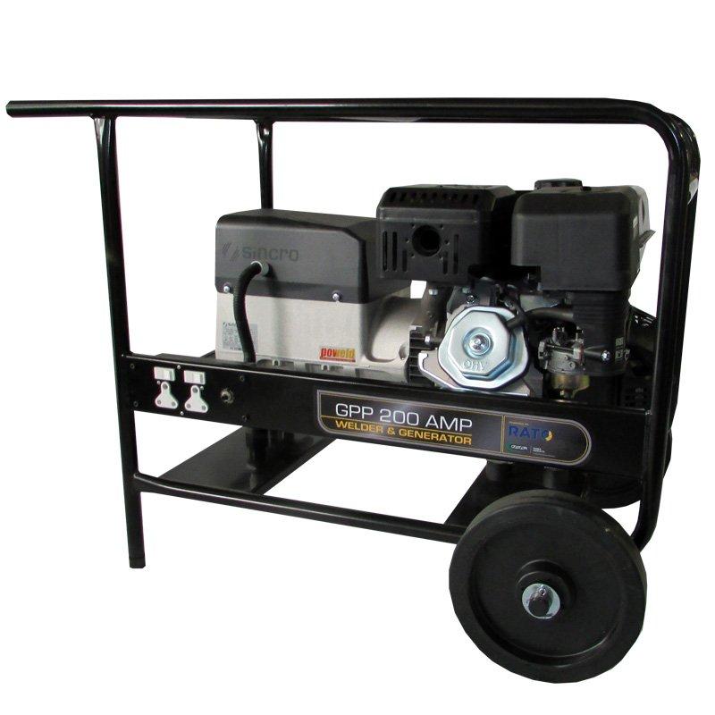 Rato Welder Generator - GPP-200AMP:R420