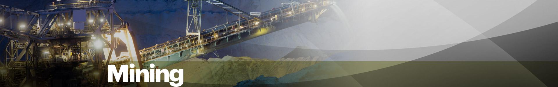 Mining Industry Banner
