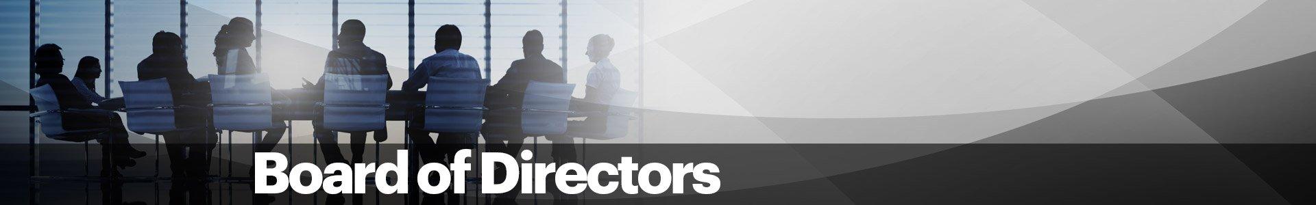 Board of Directors Banner