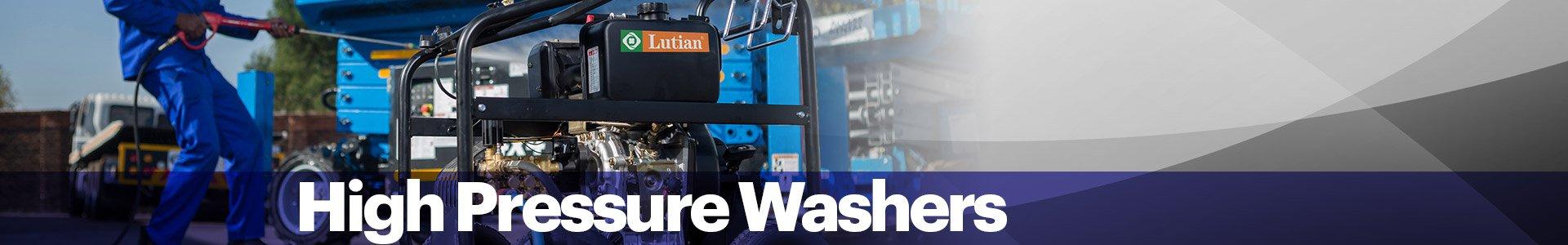 High Pressure Washer Banner