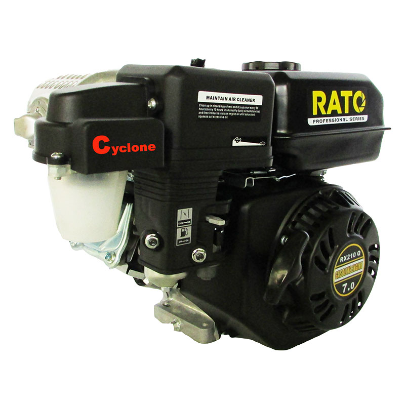 Rato Petrol R210-QC with Cyclone Air Cleaner