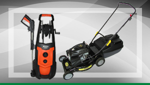 High Pressure Washers and Lawn Equipment